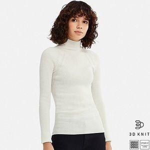 Uniqlo U 3D extra fine merino ribbed sweater